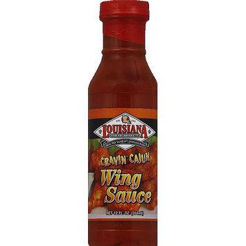 Louisiana Fish Fry Products Cravin' Cajun Wing Sauce, 12 fl oz, (Pack of 12)