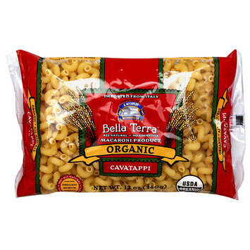Bella Terra Organic Durum Wheat Cavatappi Macaroni Product, 12 oz, (Pack of 12)