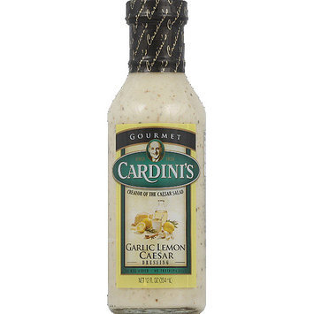 Cardini's Garlic Lemon Caesar Dressing, 12 fl oz, (Pack of 6)
