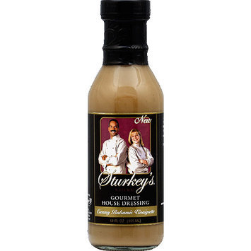 Sturkey's Natural Creamy Balsamic Vinaigrette, 12 fl oz, (Pack of 6)