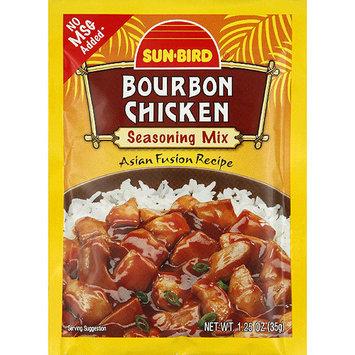 Sunbird Sun-Bird Bourbon Chicken Seasoning Mix, 1.25 oz, (Pack of 24)