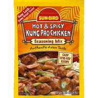 Sunbird Sun-Bird Hot & Spicy Kung Pao Chicken Seasoning Mix, 0.875 oz, (Pack of 24)