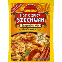 Sunbird Sun-Bird Hot & Spicy Szechwan Seasoning Mix, 0.75 oz, (Pack of 24)