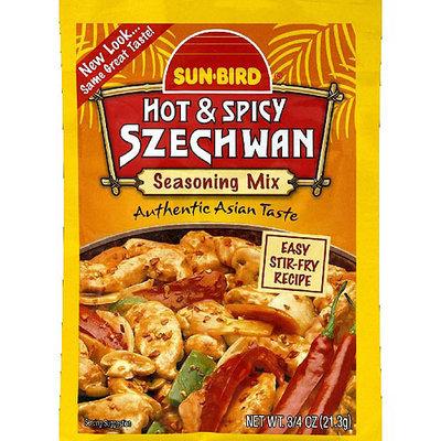Sunbird Sun-Bird Hot & Spicy Szechwan Seasoning Mix, 0.75 oz, (Pack of 24)