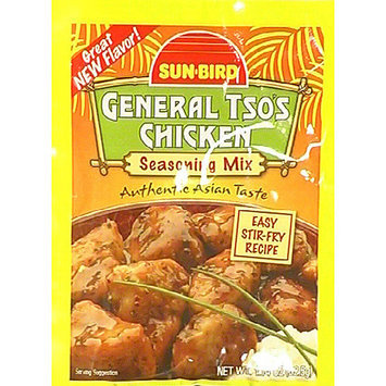 Sunbird Sun-Bird General Tso' s Chicken Seasoning Mix, 1.14 oz, (Pack of 24)