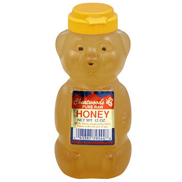 Cheatwood's Pure Raw Honey, 12 oz, (Pack of 12)