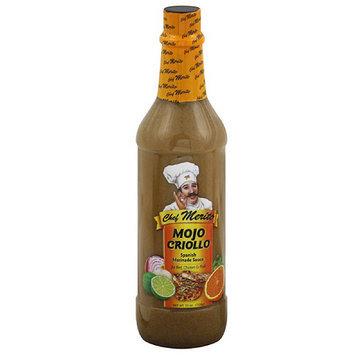 Chef Merito Mojo Crillo Spanish Marinade Sauce, 25 oz, (Pack of 12)