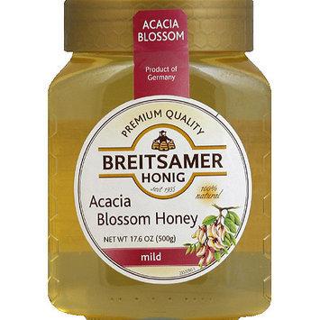 Breitsamer Honig Mild Acacia Blossom Honey, 17.6 oz, (Pack of 6)