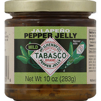 TABASCO Mild Jalapeno Pepper Jelly, 10 oz, (Pack of 12)