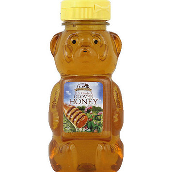 Harmony Farms Clover Honey, 12 oz, (Pack of 12)