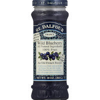 St. Dalfour Wild Blueberry Fruit Spread, 10 oz, (Pack of 6)