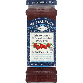 St. Dalfour Strawberry Fruit Spread, 10 oz, (Pack of 6)