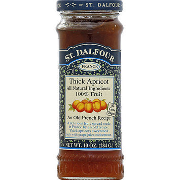 St. Dalfour Thick Apricot Fruit Spread, 10 oz, (Pack of 6)