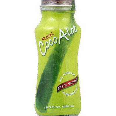 Taste Nirvana Real Coco Aloe, 9.5 fl oz, (Pack of 12)
