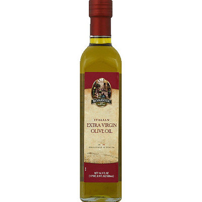 Bonavita Italian Extra Virgin Olive Oil, 16.9 fl oz, (Pack of 6)