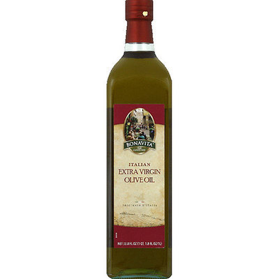 Bonavita Italian Extra Virgin Olive Oil, 33.8 fl oz, (Pack of 6)
