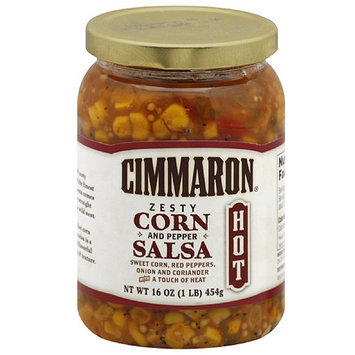 Cimmaron Zesty Corn and Pepper Salsa, 16 oz, (Pack of 12)