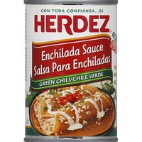 HERDEZ Mild Green Chili Enchilada Sauce, 10 oz, (Pack of 12)