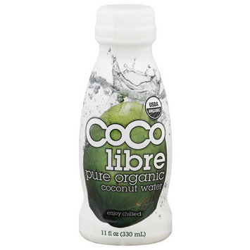 Coco Libre Pure Organic Coconut Water, 11 fl oz, (Pack of 12)
