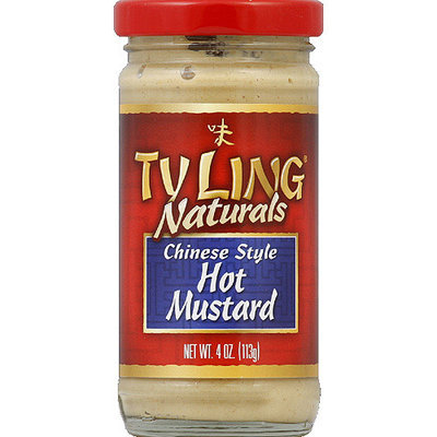 Ty Ling Naturals Chinese Style Hot Mustard, 4 oz, (Pack of 12)