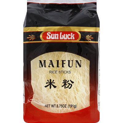 Sun Luck Maifun Rice Sticks, 6.75 oz, (Pack of 12)