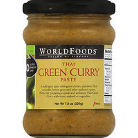 World Foods WorldFoods Mild Thai Green Curry Paste, 7.8 oz, (Pack of 6)