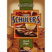 Win Schuler's Garlic Snack Chips, 7 oz, (Pack of 12)