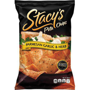 Stacy's Pita Chip Stacy's Parmesan Garlic & Herb Pita Chips, 8 oz, (Pack of 12)