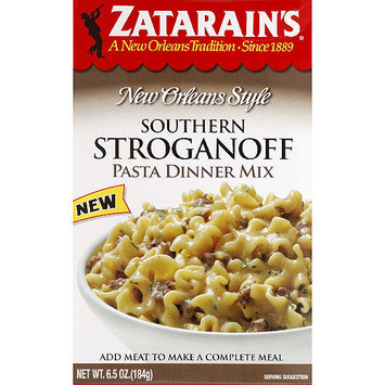 Zatarain's New Orleans Style Southern Stroganoff Pasta Dinner Mix, 6.5 oz, (Pack of 8)