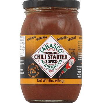 TABASCO Original Homestyle, 7 Spice Chili Starter, 16 oz, (Pack of 6)