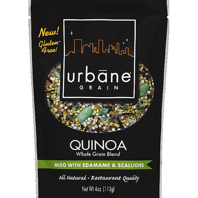 Urbane Grain Miso with Edamame & Scallions Quinoa, 4 oz, (Pack of 6)