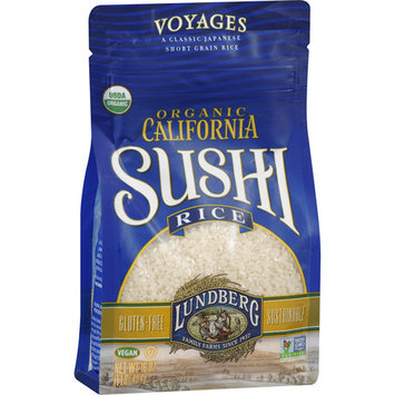 Lundberg Organic California Sushi Rice, 16 oz, (Pack of 6)
