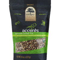 Modern Cocktail tru Roots Accents Organic Sprouted Quinoa Trio, 8 oz, (Pack of 6)