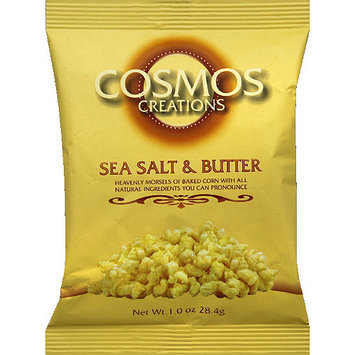 Cosmos Creations Sea Salt & Butter Baked Corn, 1 oz, (Pack of 24)