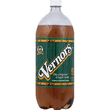 Vernor's Vernors The Original Ginger Soda, 2 l, (Pack of 8)