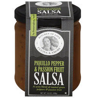 Cucina & Amore Piquillo Pepper & Passion Fruit Salsa, 14.8 oz, (Pack of 6)