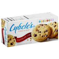 Cybele's Free-to-Eat Chocolate Chip Vegan & Gluten Free Cookies, 6 oz, (Pack of 6)
