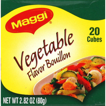 Maggi Vegetable Flavor Bouillon, 2.82 oz, (Pack of 12)