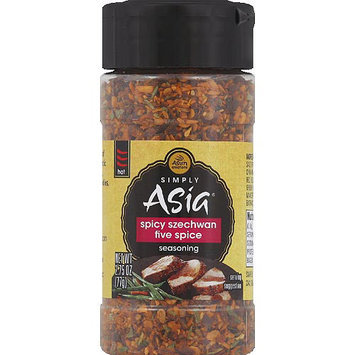 Simply Asia Spicy Szechwan Five Spice Seasoning, 2.75 oz, (Pack of 6)