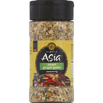 Simply Asia Sweet Ginger Garlic Seasoning, 3.12 oz, (Pack of 6)
