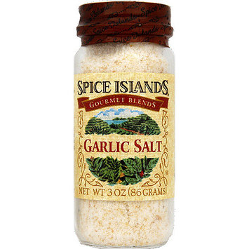 Spice Islands Garlic Salt, 3 oz, (Pack of 3)