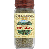 Spice Islands Crushed Rosemary, 1.25 oz, (Pack of 3)