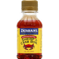 Zatarain's Concentrated Shrimp & Crab Boil, 4 fl oz, (Pack of 12)