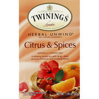 TWININGS® OF London Citrus & Spices Herbal Tea Bags