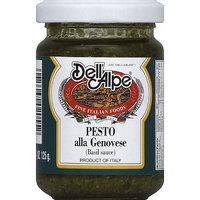 Dell Alpe Dell' Alpe Pesto alla Genovese, 4.75 oz, (Pack of 12)