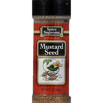 Spice Supreme Mustard Seed, 5 oz, (Pack of 12)