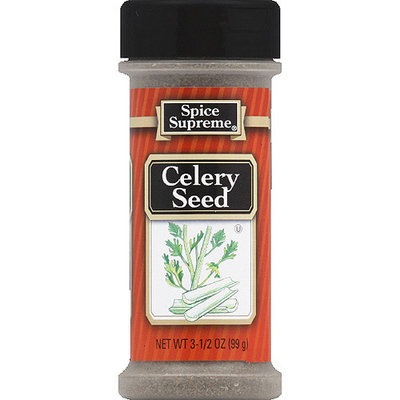 Spice Supreme Celery Seed, 3.5 oz, (Pack of 12)