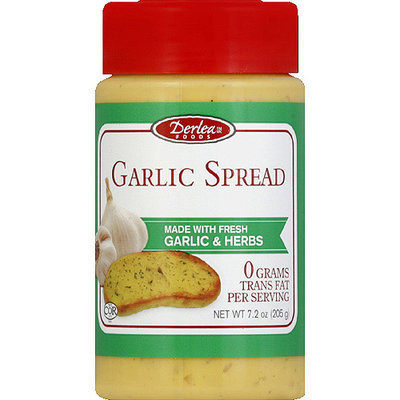 Derlea Foods Garlic Spread, 7.2 oz, (Pack of 6)