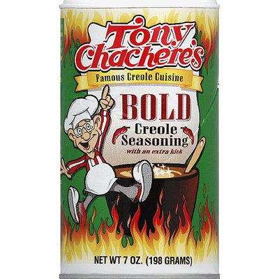 Tony Chachere's Bold Creole Seasoning, 7 oz, (Pack of 6)