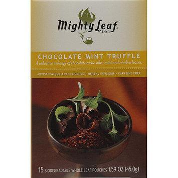 Mighty Leaf Tea Chocolate Mint Truffle Tea, 15 count, 1.59 oz, (Pack of 6)